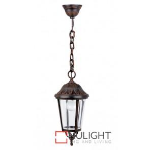Hanging Lantern 60W Brown ASU