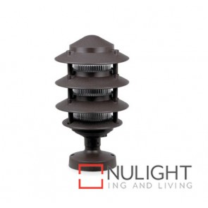Louvered Lantern Wall Top Bronze ASU