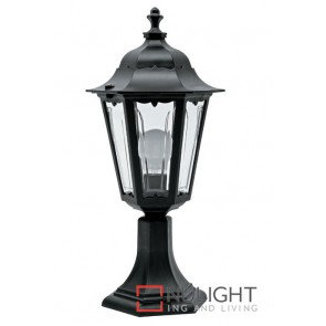 Column Top Hex Lantern Black ASU