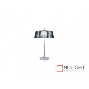 Paolo 2 light Table Lamp Black VAM