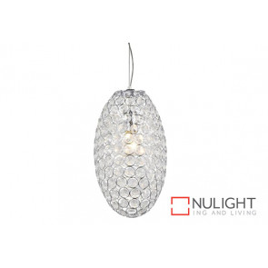Krystal LED Egg 52cm G9*8 Pendant VAM