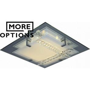 Croce Crystal LED Oyster Light VAM