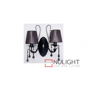 Florence 2 Light Black Crystal VAM