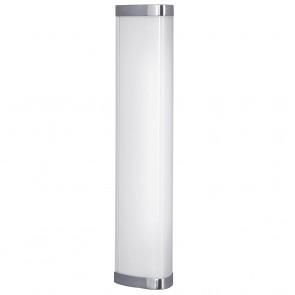 Gita IP44 1 Light Wall Vanity Light in Chrome Eglo Lighting