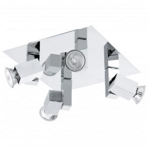 Piana Four Light Spot Light in Chrome Eglo Lighting