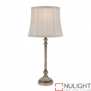 Elise 1 Light Table Lamp Antique Silver COU