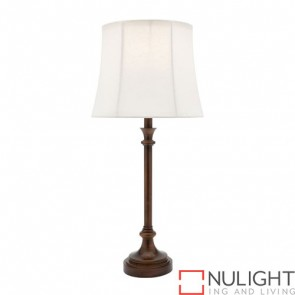 Elise 1 Light Table Lamp Bronze COU