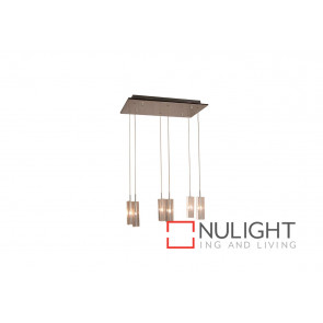 Cubo 6 Light Clear Pendant VAM