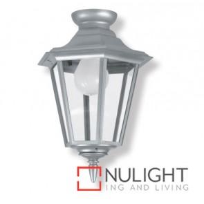 Ceiling Lantern Plastic Hexagon Silver ASU