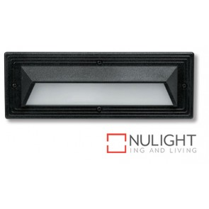 Bricklight Eyelid Ip54 9W Black ASU