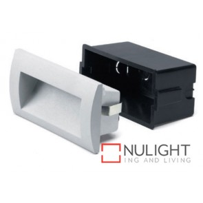 Recessed Wall Light 3W Led 140X70Mm White ASU