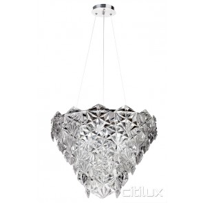 Fairy 6 Lights Pendant Chrome Citilux
