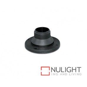 Flange For 60Mm Post Black ASU