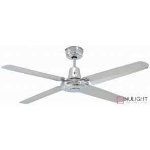 Swift Metal 1200 Ceiling Fan Brushed Chrome MEC