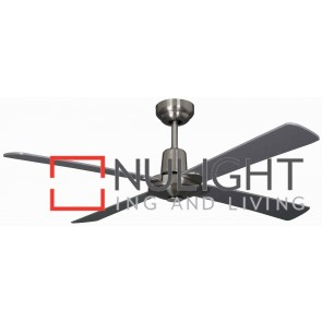Kimberley 1200 Ceiling Fan Brushed Chrome MEC