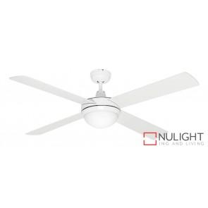Caprice 1200 Ceiling Fan with B22 Light White MEC