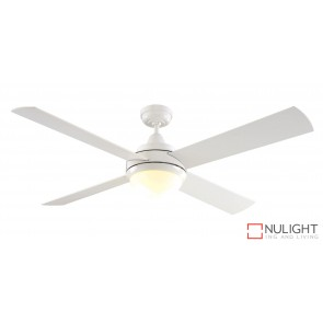 Caprice DC 1300 DC Ceiling Fan with Light White MEC