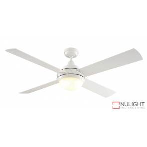 Caprice DC 1300 DC Ceiling Fan with LED Light White MEC