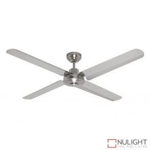 Sirocco 1300 DC Ceiling Fan Brushed Chrome MEC