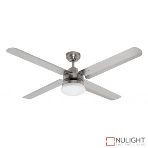 Sirocco 1300 DC Ceiling Fan with Light Brushed Chrome MEC