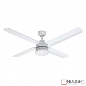 Sirocco 1300 DC Ceiling Fan with Light White MEC