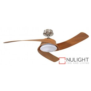 Monterey DC Ceiling Fan Brushed Chrome MEC