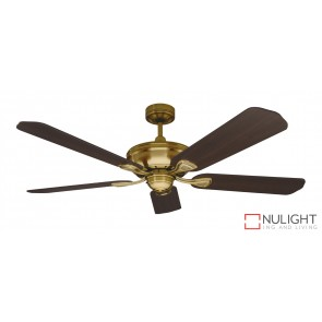 Healey Ceiling Fan Antique Brass MEC