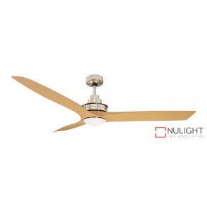 Flinders Led Ceiling Fan Brushed Chrome MEC