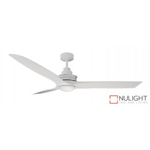 Flinders Led Ceiling Fan White MEC