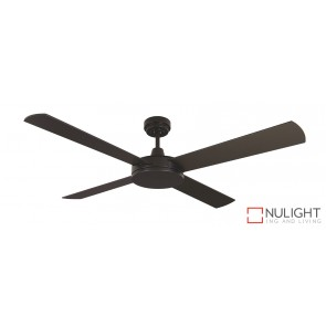 Luna Ceiling Fan Black MEC