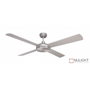 Luna Ceiling Fan Brushed Steel MEC