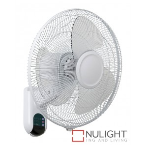 Athena Ii Wall Fan With Remote White MEC