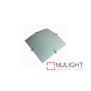 Quad 40cm 2 Light Oyster Satin Chrome VAM