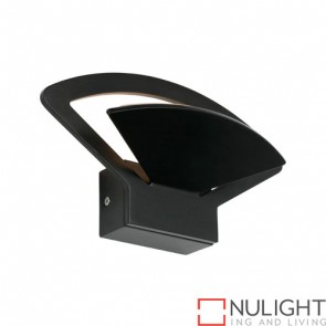 Fiesta 6W LED Wall Light Black COU