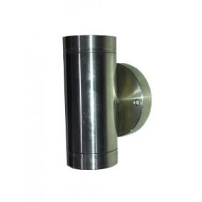 2 Light Stainless Steel Halogen Light Fiorentino