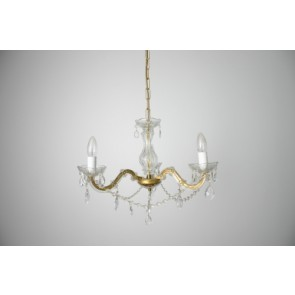 3 Lights  Swing Arm Chandelier Fiorentino