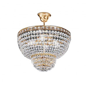4 Light Close To Ceiling Chandelier Fiorentino
