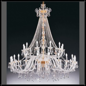 Dream 24 Lights Crystal Chandelier Fiorentino