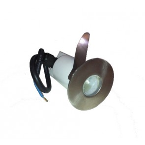 Light Stainless Steel Leds 7.6cm Dia. Fiorentino