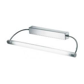 Linea One Light Adjustable Vanity Wall Light in Chrome Fiorentino