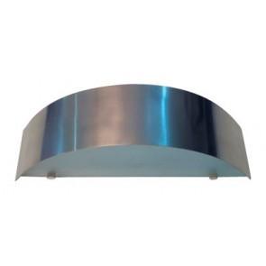 Linea Wall Light in Silver Fiorentino Lighting