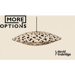 Flax black 1 Side Inside David Trubridge Pendant DAV