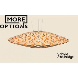 Flax Orange David Trubridge Pendant DAV