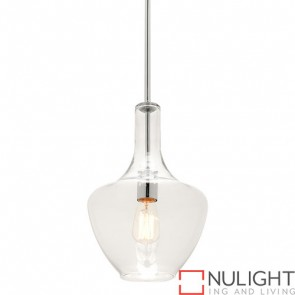 Fontaine 1 Light Pendant Small Chrome COU