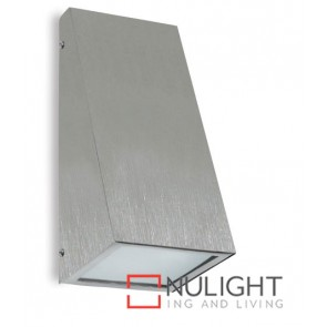 Wall Downlight Wedge E27 Stainless Steel ASU