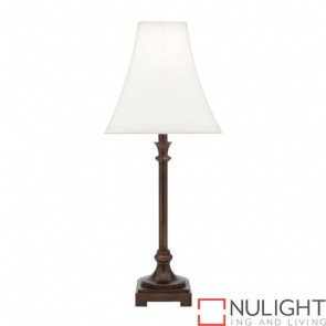 Grace 1 Light Table Lamp Bronze COU
