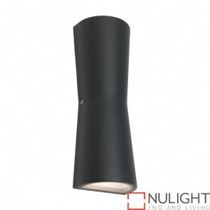 Graz Exterior Wall Light Charcoal COU