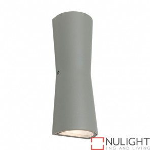 Graz Exterior Wall Light Silver COU