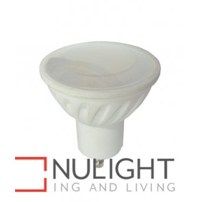 GLOBE LED GU10 5W 3000K Frosted 100D 400 Lumens  White finish CLA
