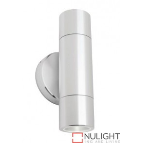 Hamburg 2 Light Wall Light Aluminium COU